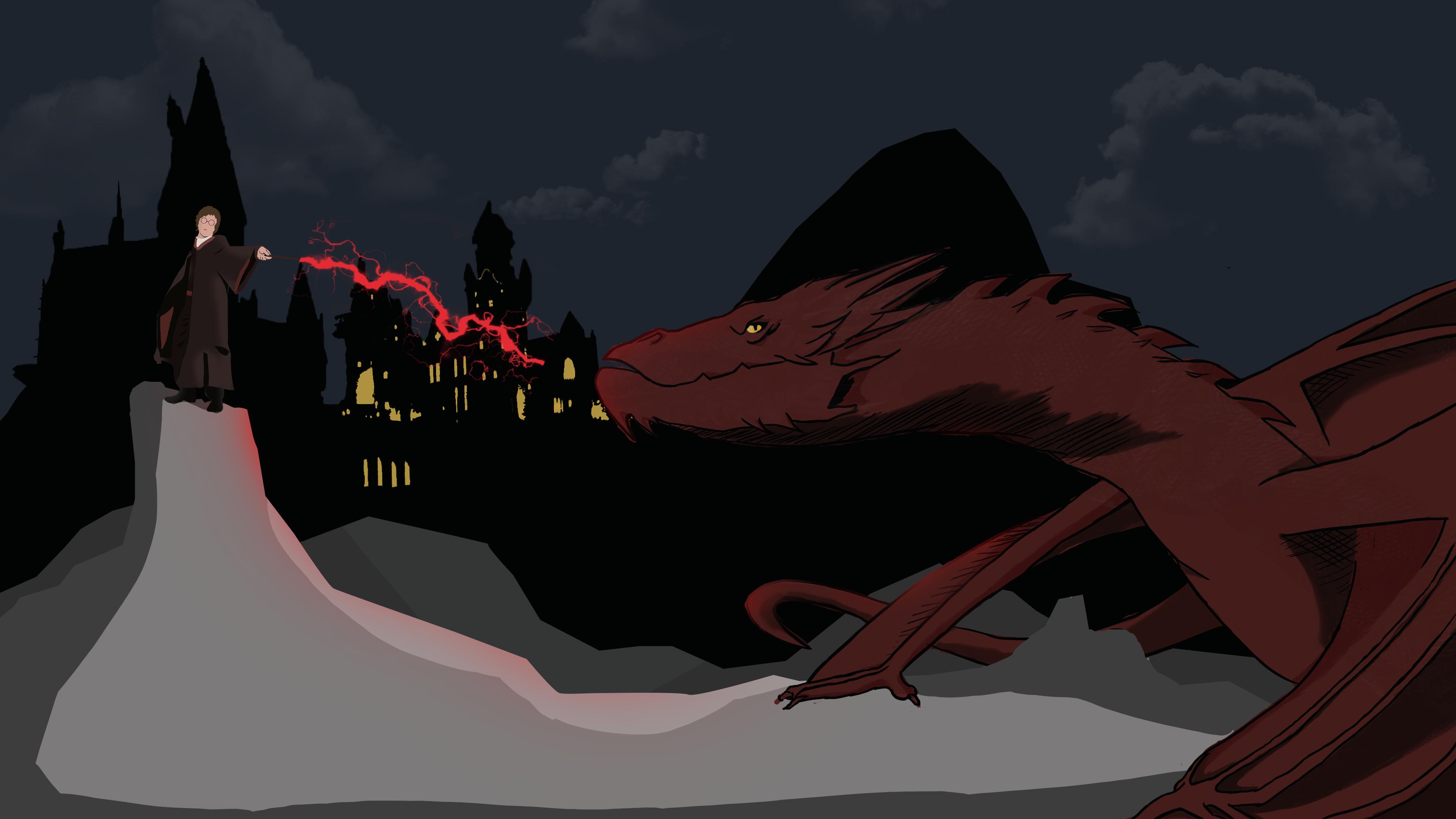Desolation of Smaug ft Harry Potter