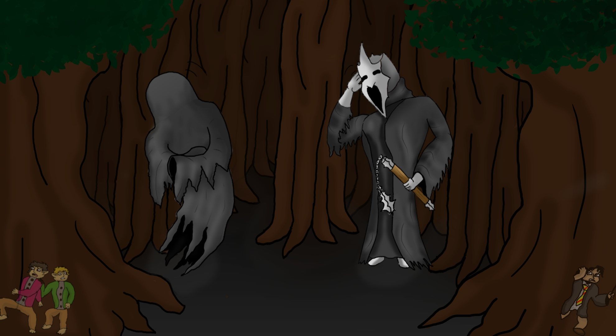 Dementor meats Ringwriath