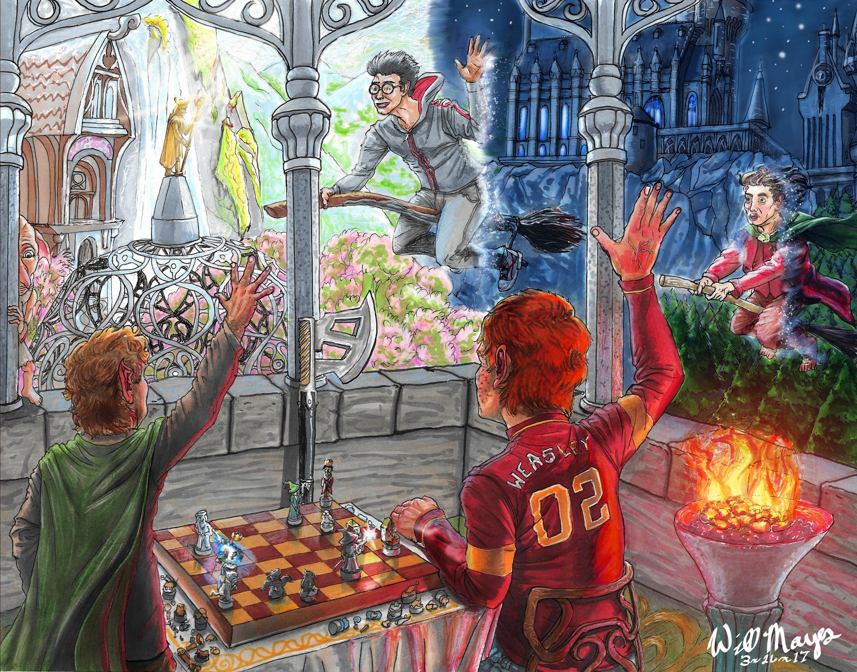 Harry Potter and Secrets Veil