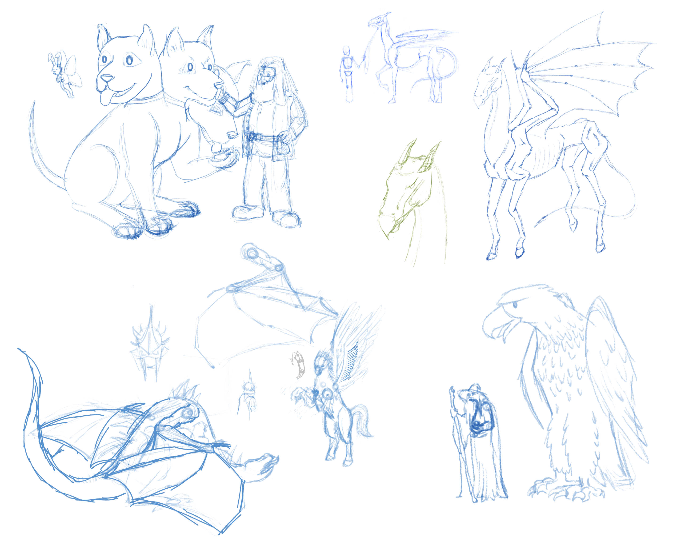 Hogsmead Fete and Fantastical Creatures Contest WIP