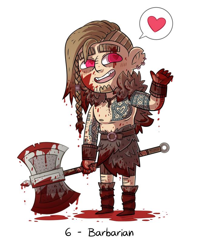 RPG Challenge - 6 - Barbarian