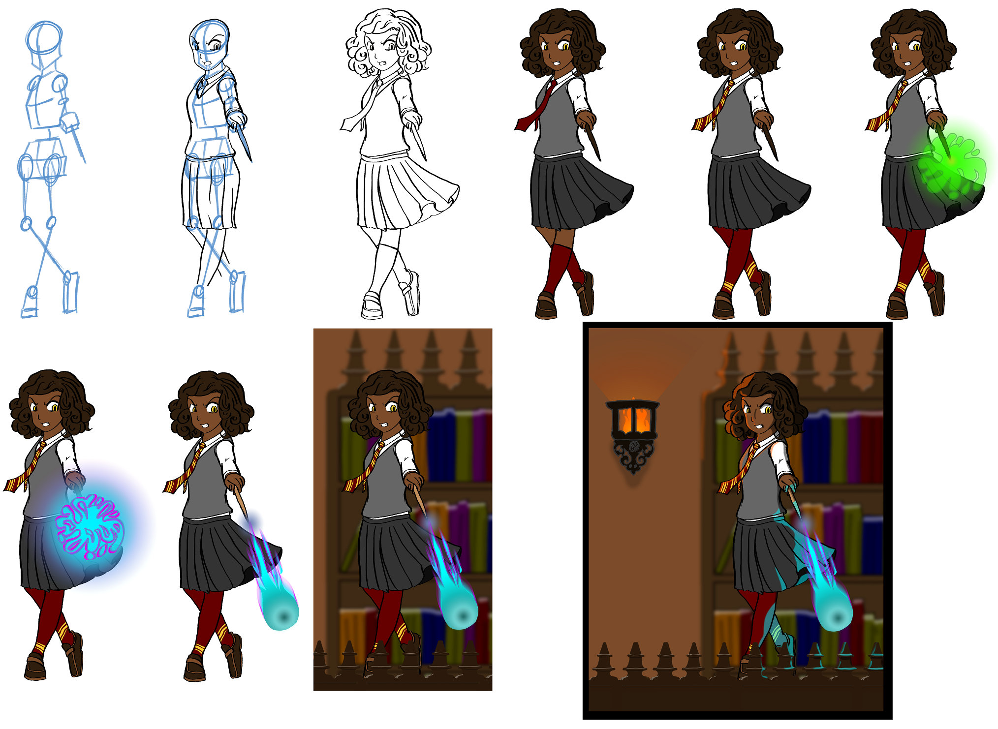 Work in Progress -- Hermione's Evolution