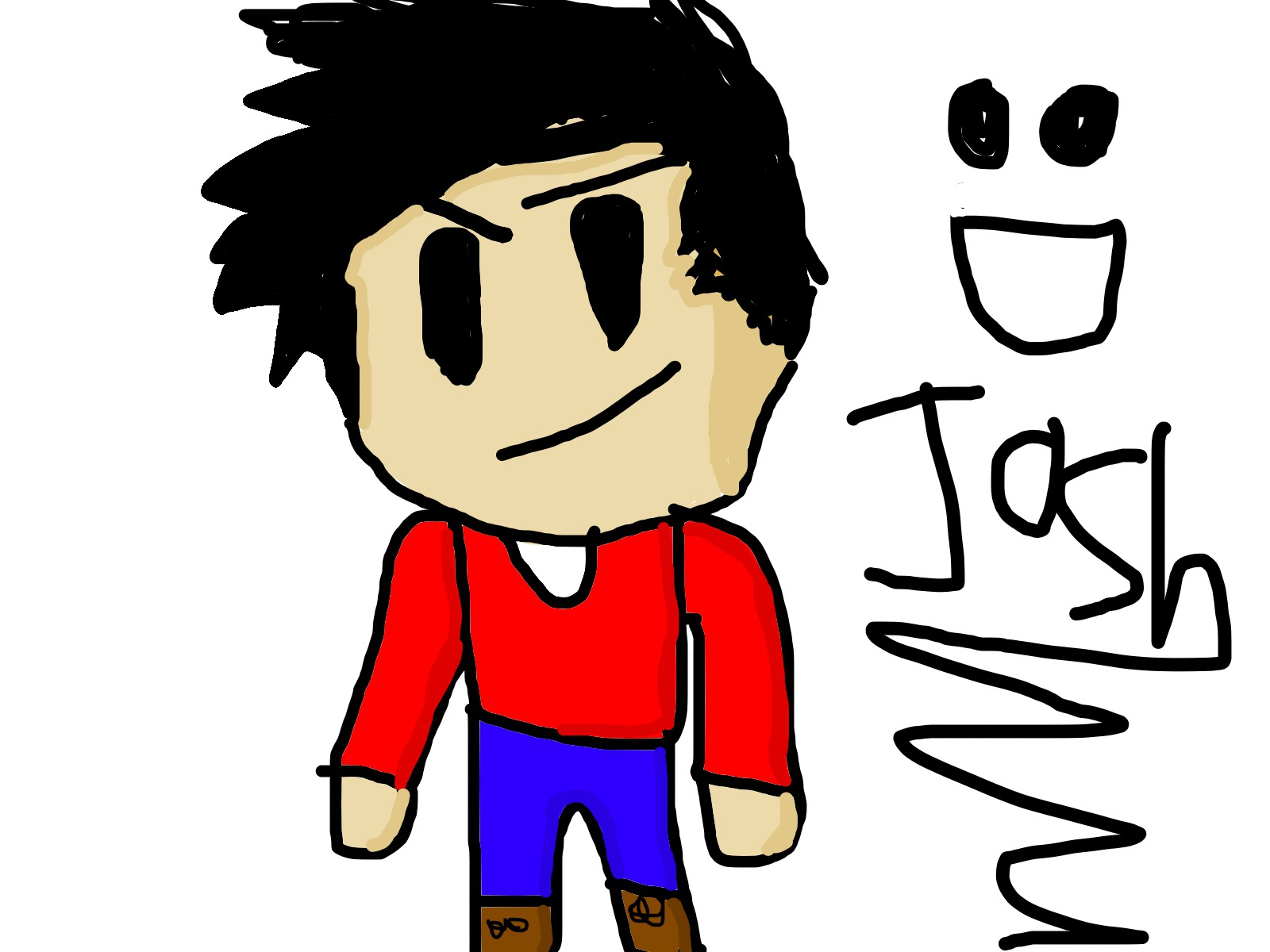 Me with shading