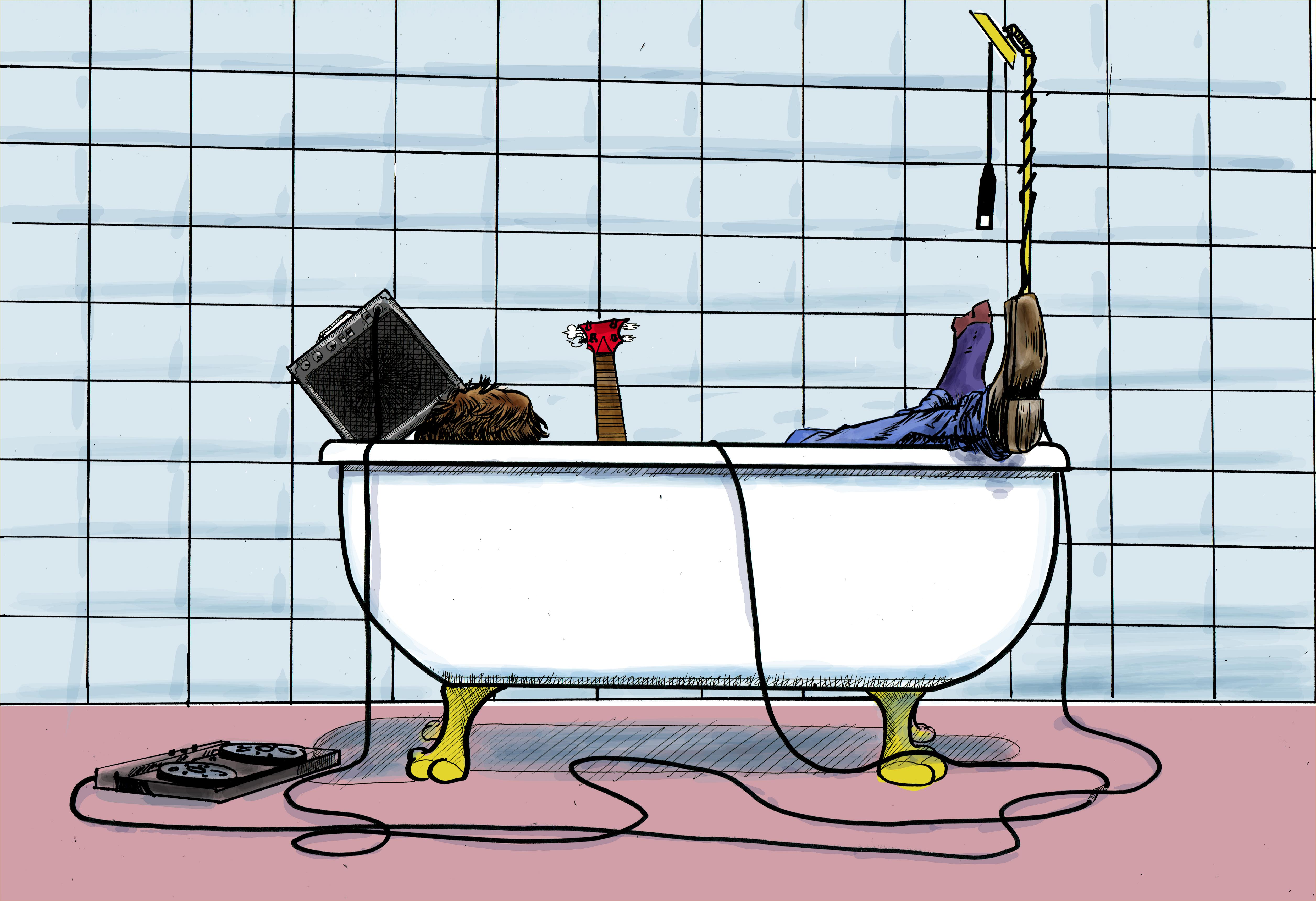 tub session