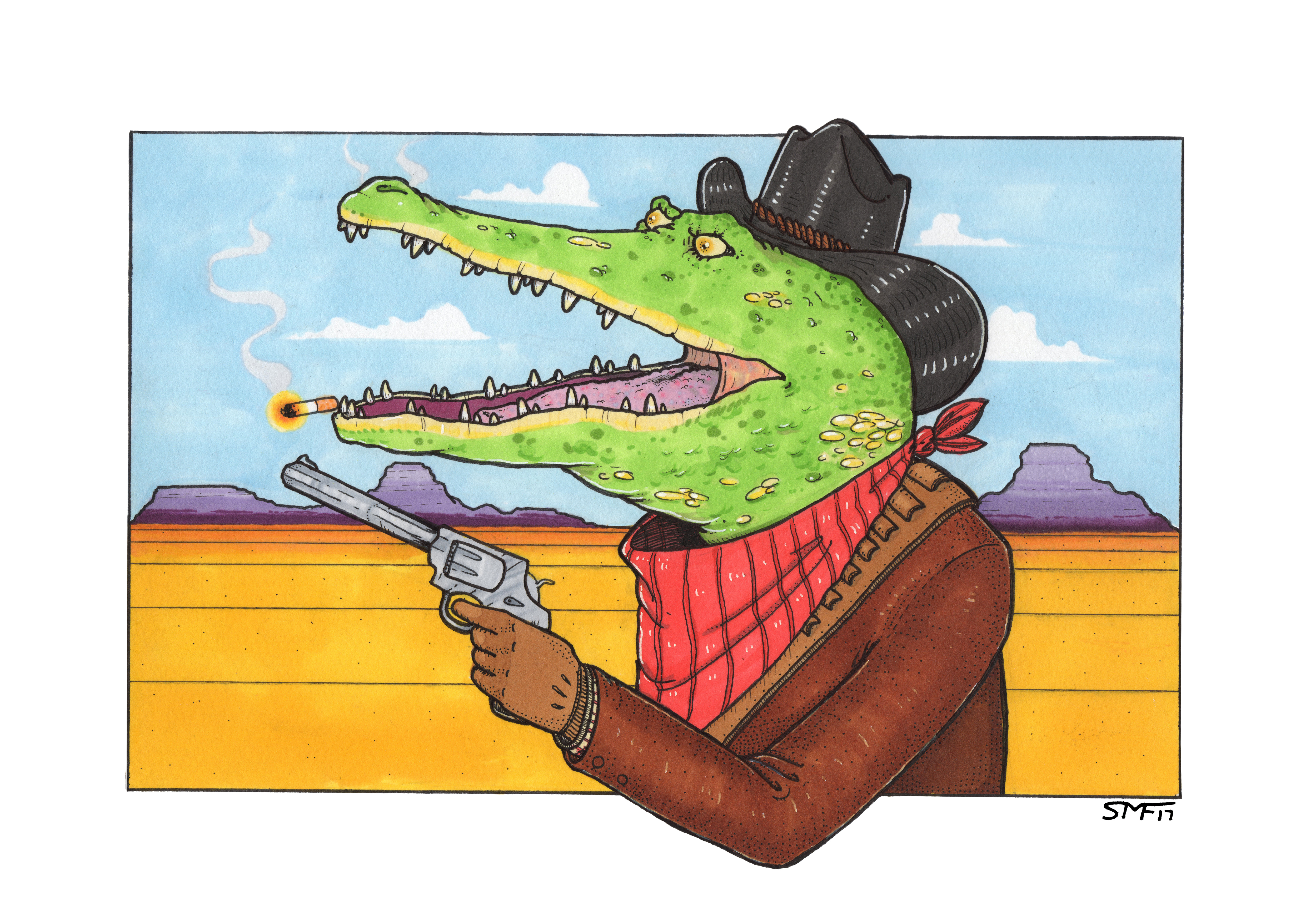 The Good, The Bad, The Scaly