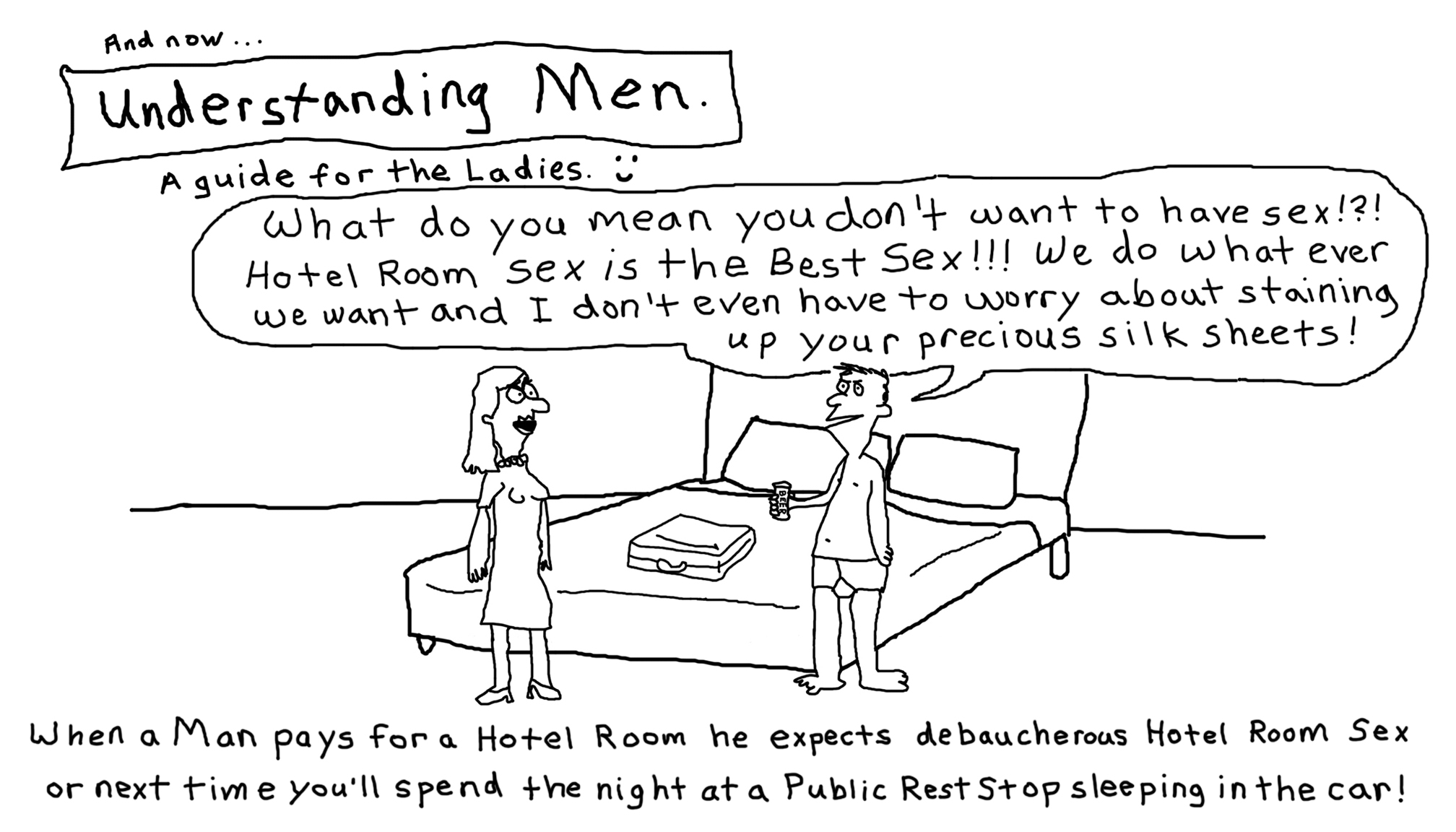Understanding Men #8