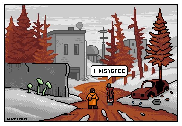 pixel comic panel #3