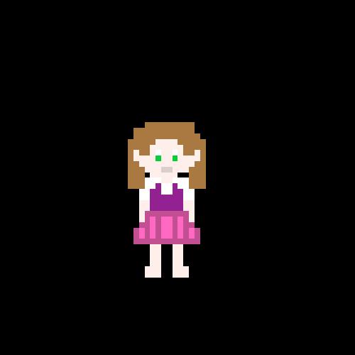 Pixel Art Girl