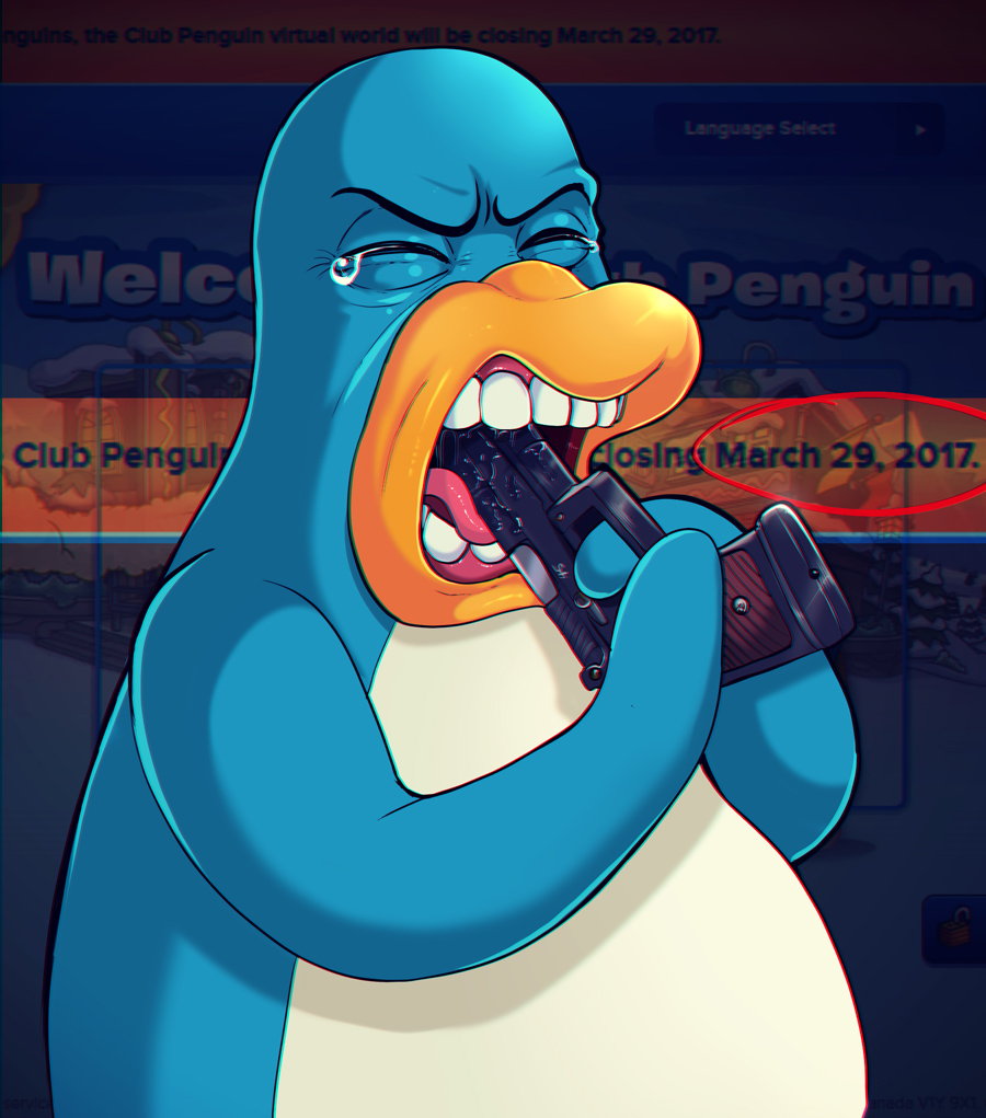 Rip Clup Penguin