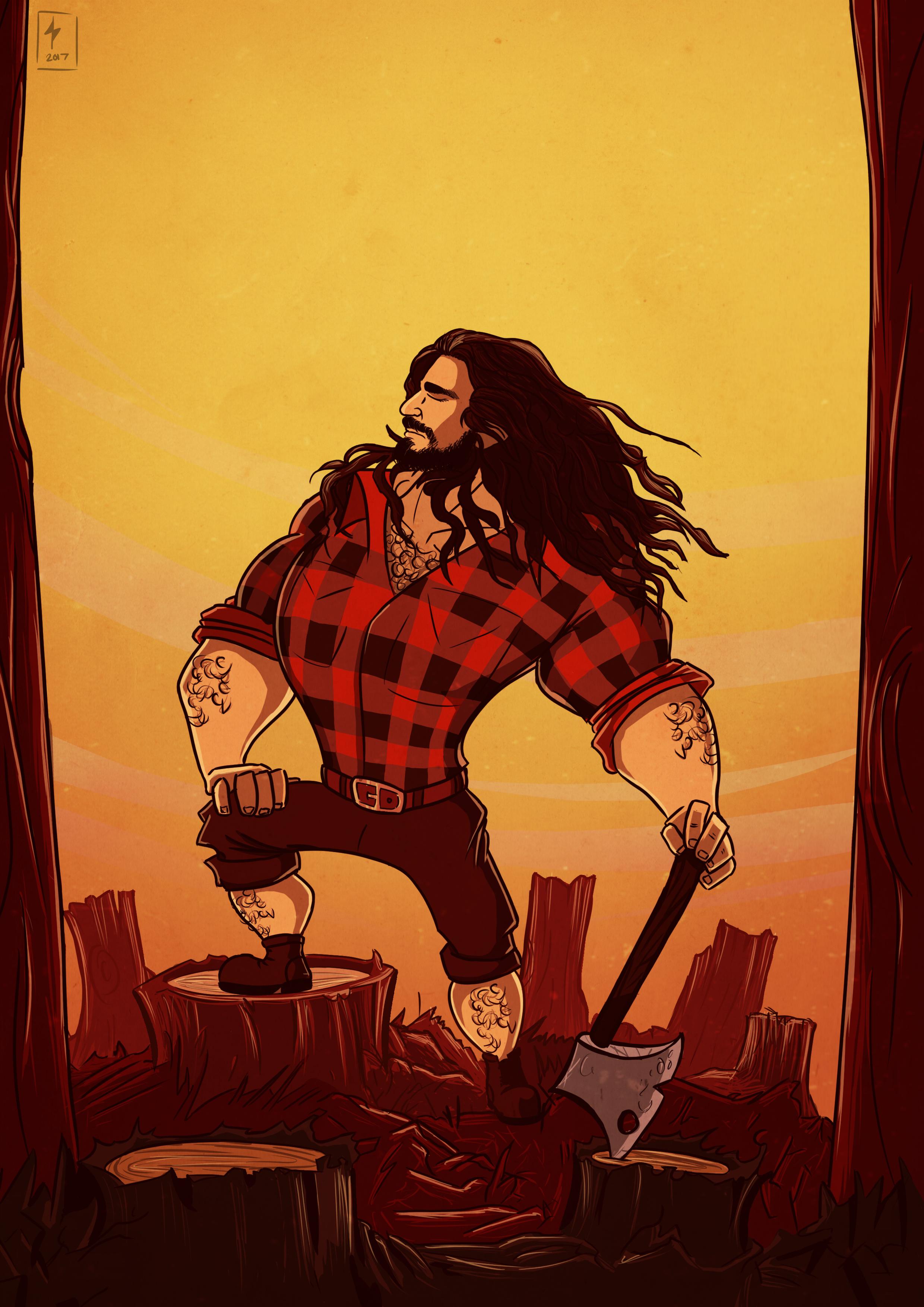 Majestic Lumberjack