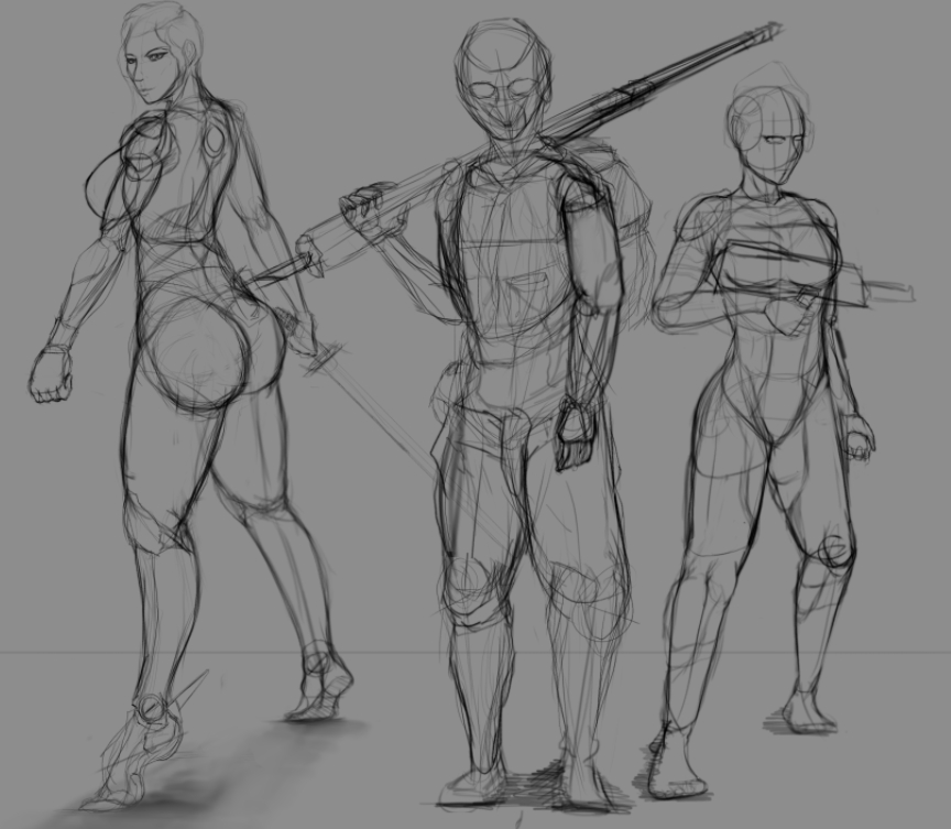 Character sketchesss....