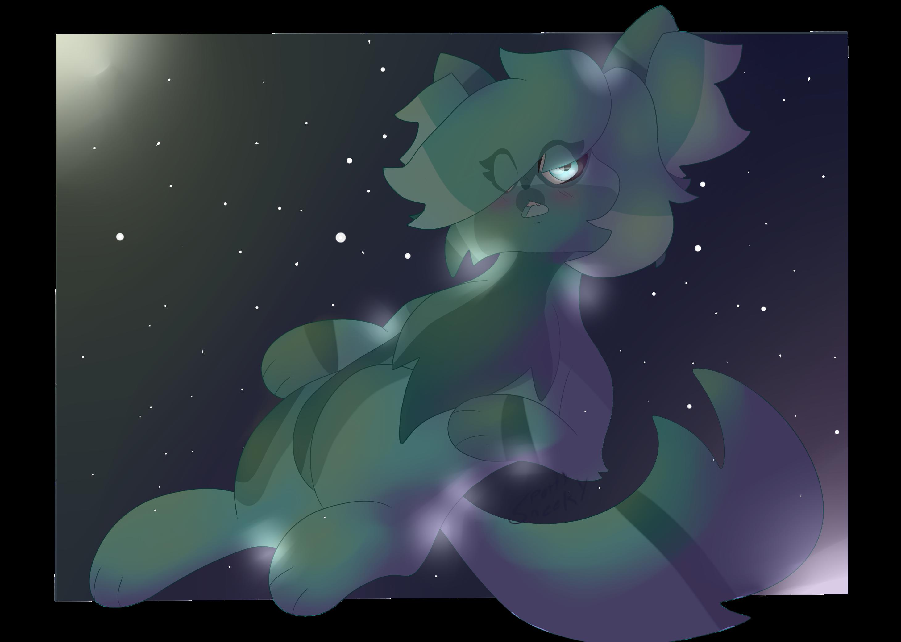 blissful glow