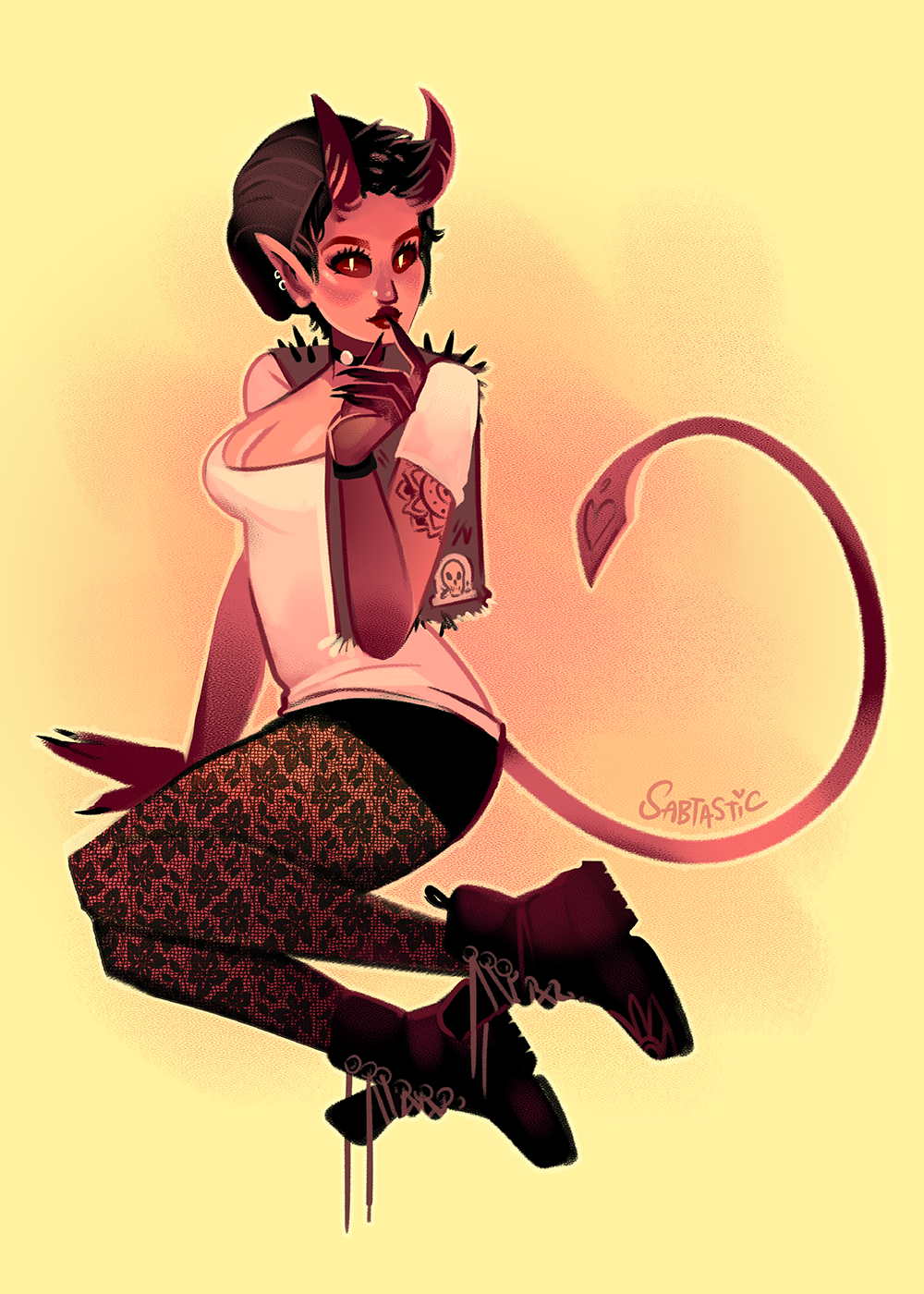 Punk Devil Girl