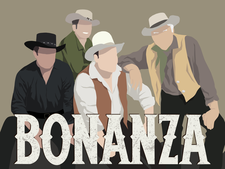 Bonanza Minimalist Portrait