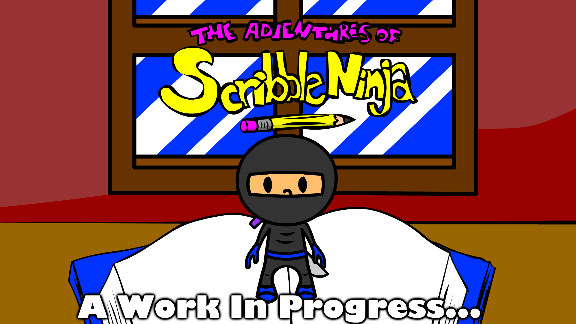ScribbleNinja Preview Poster
