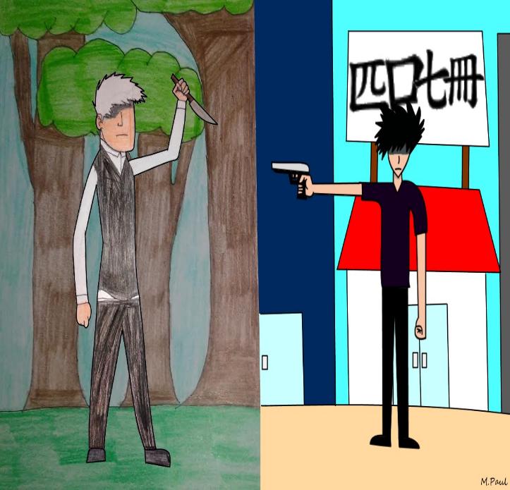 Old vs. New- Art
