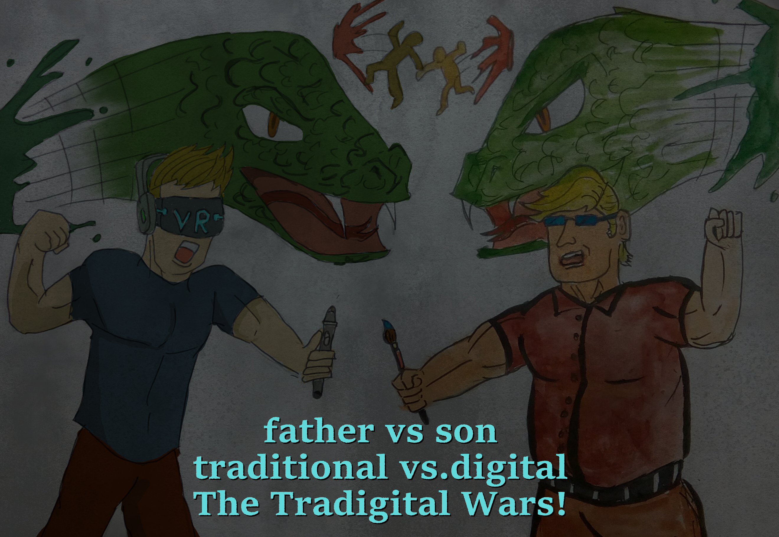 The Tradigital Wars
