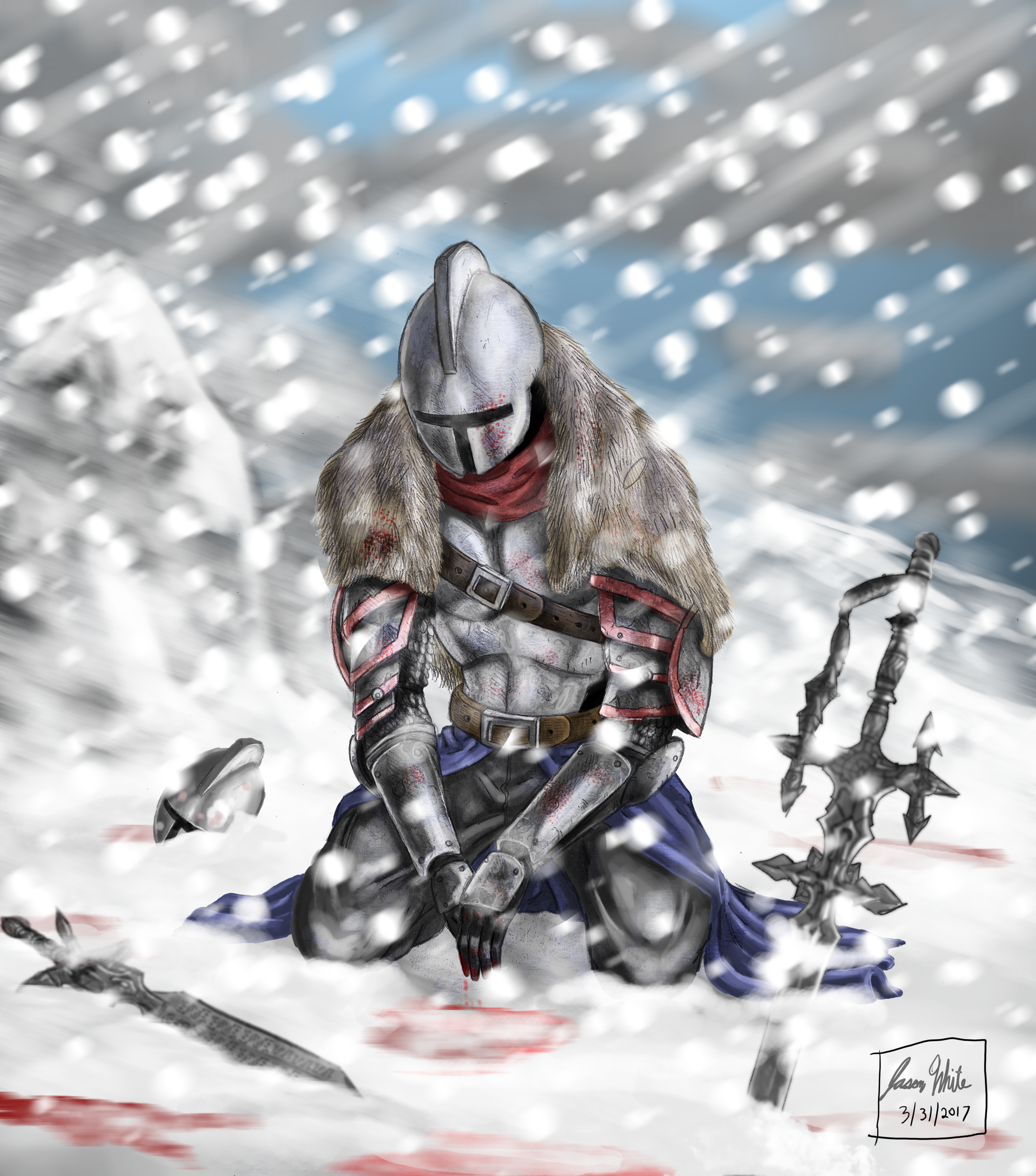 Weary Soldier