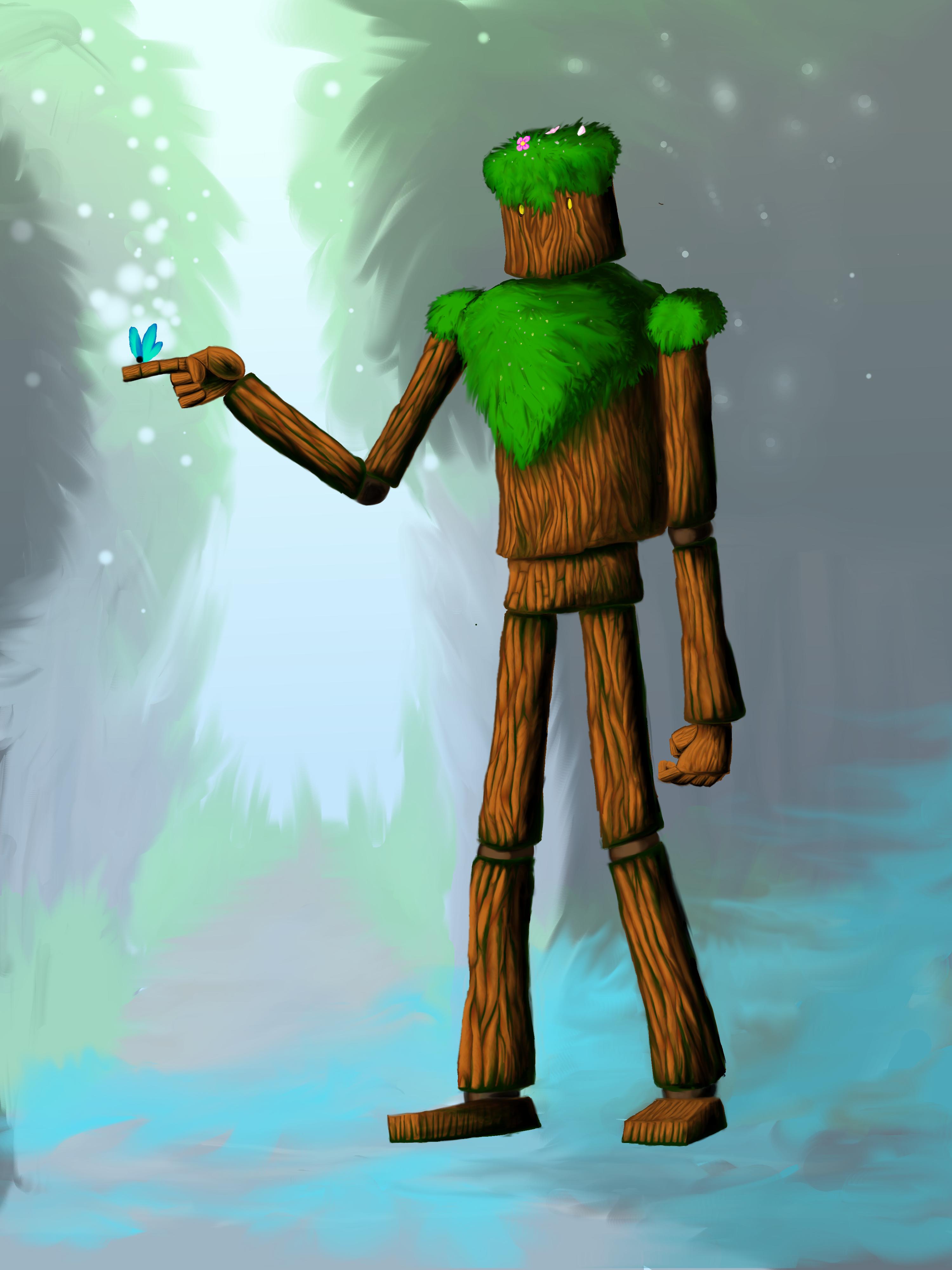 Wooden Guardian