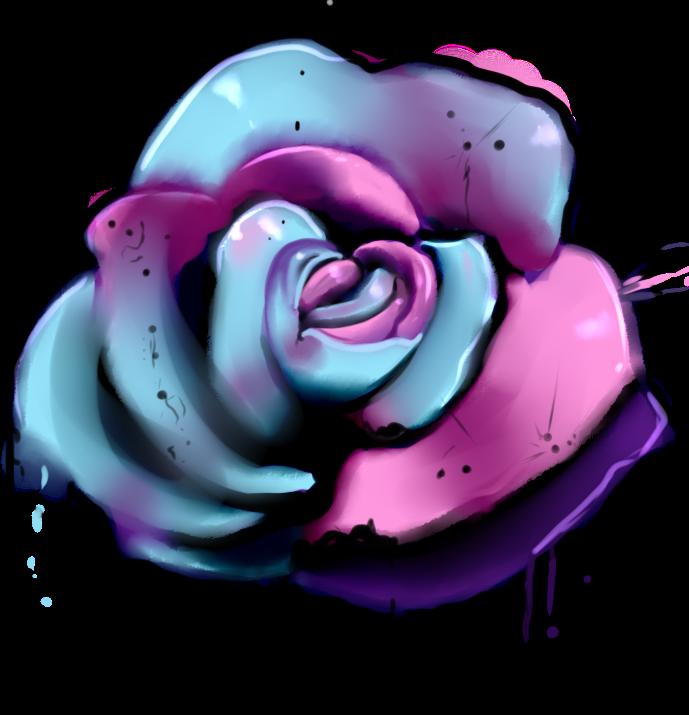 Inked Rose