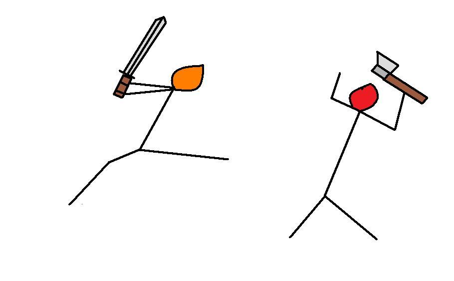 Stick battle
