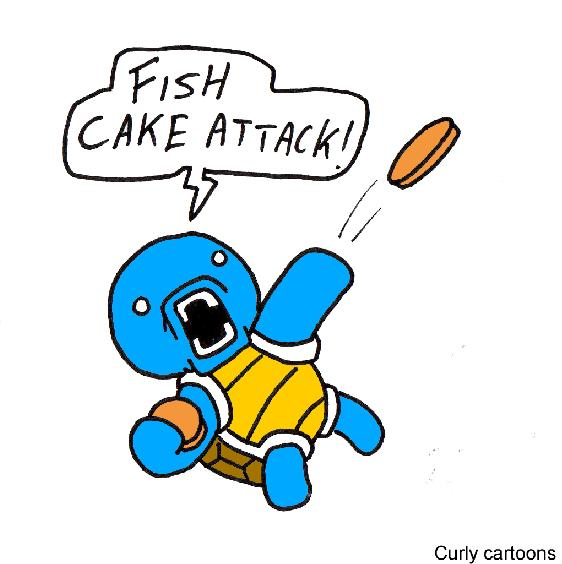 Squirtle Used FishCake