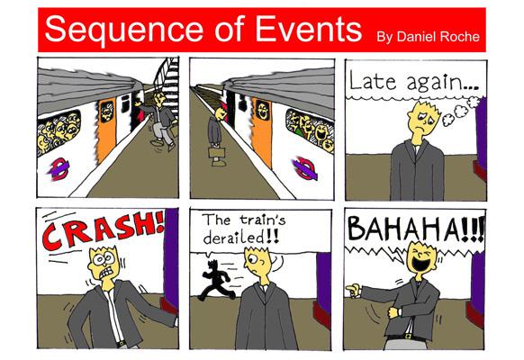 London Underground Comic