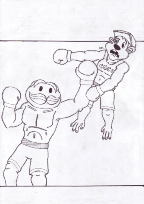 Pringle Punch Out
