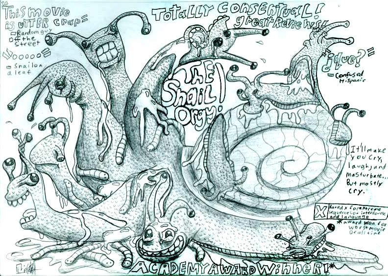 The Snail Orgy!
