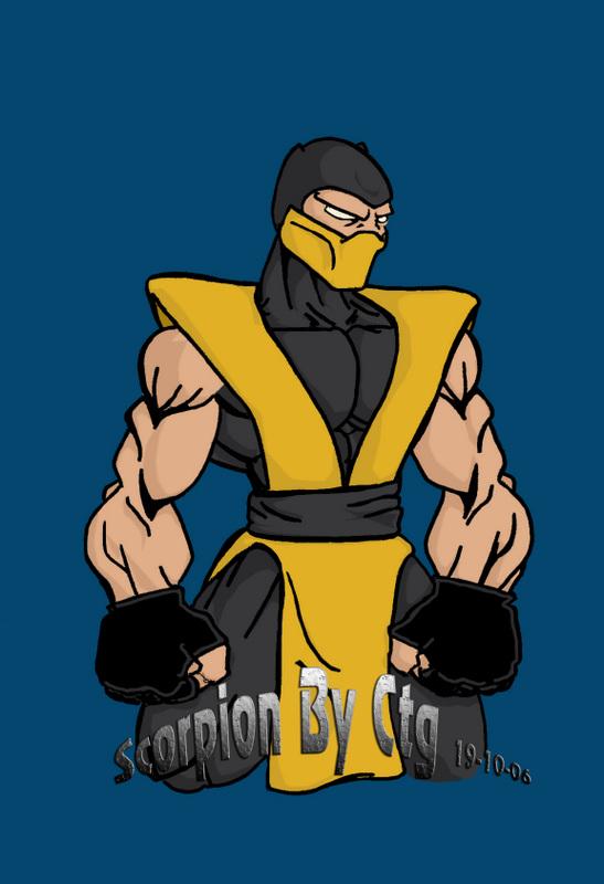 Olschool Scorpion