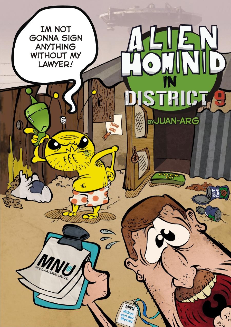 Alien Hominid in District 9