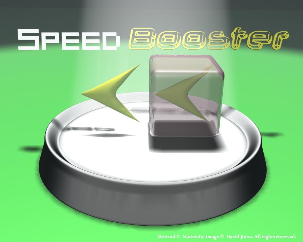 Super Metroid: Speed Booster