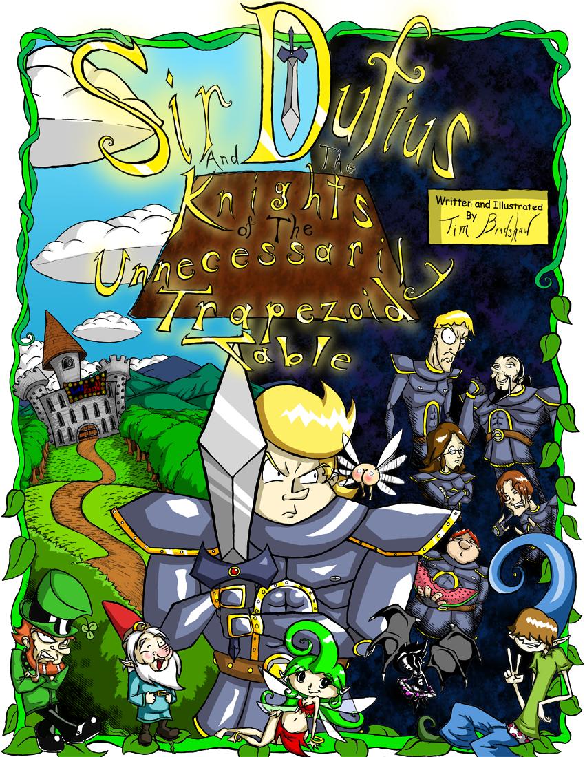 Sir Dufius Comic- Cover