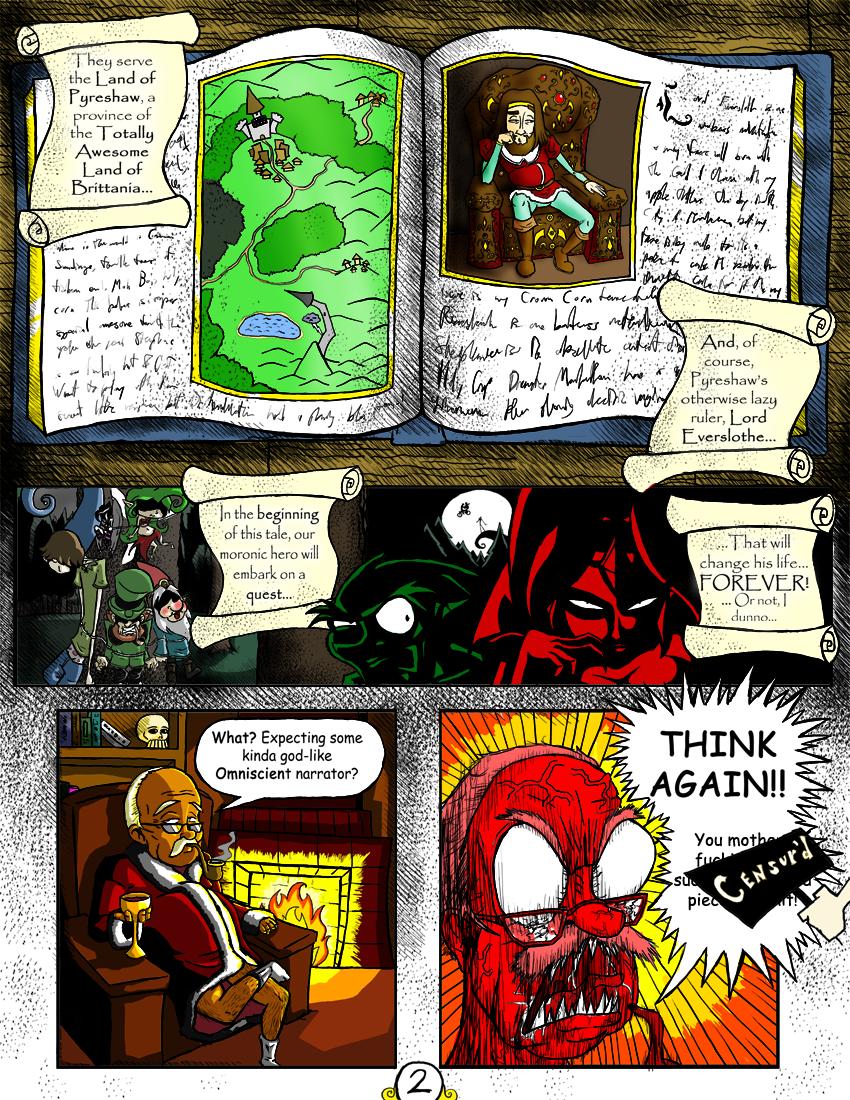 Sir Dufius Comic- Page 2