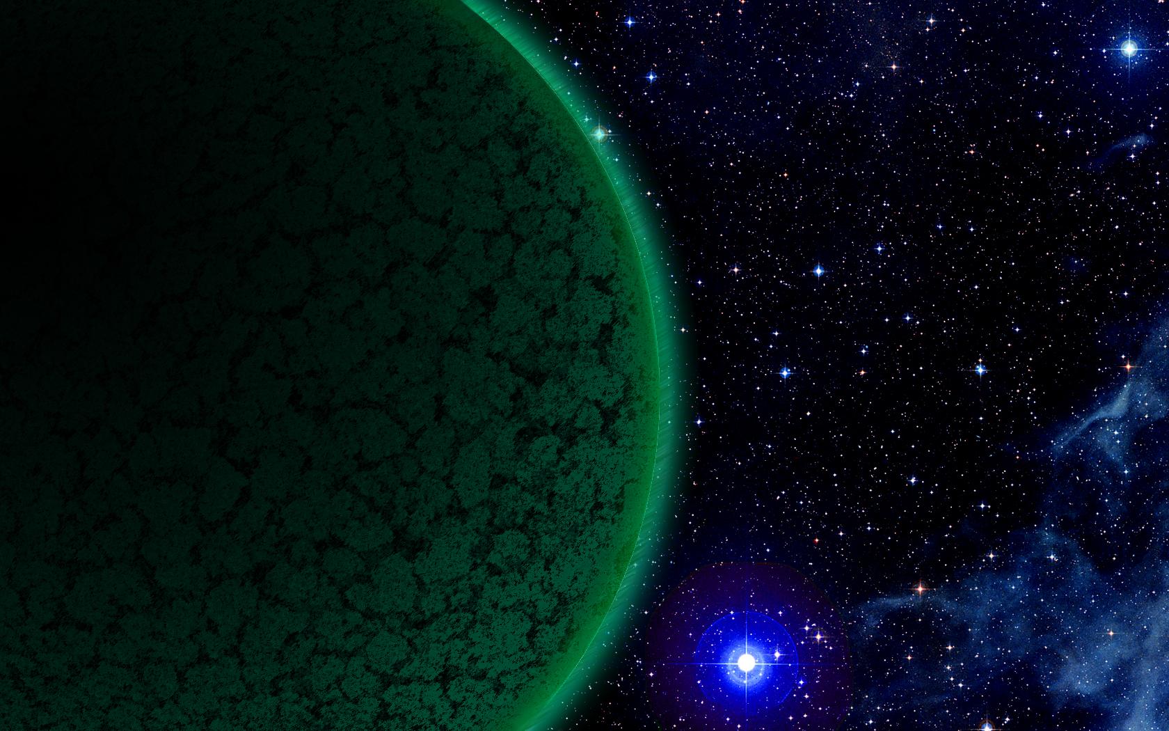a glimpse into space