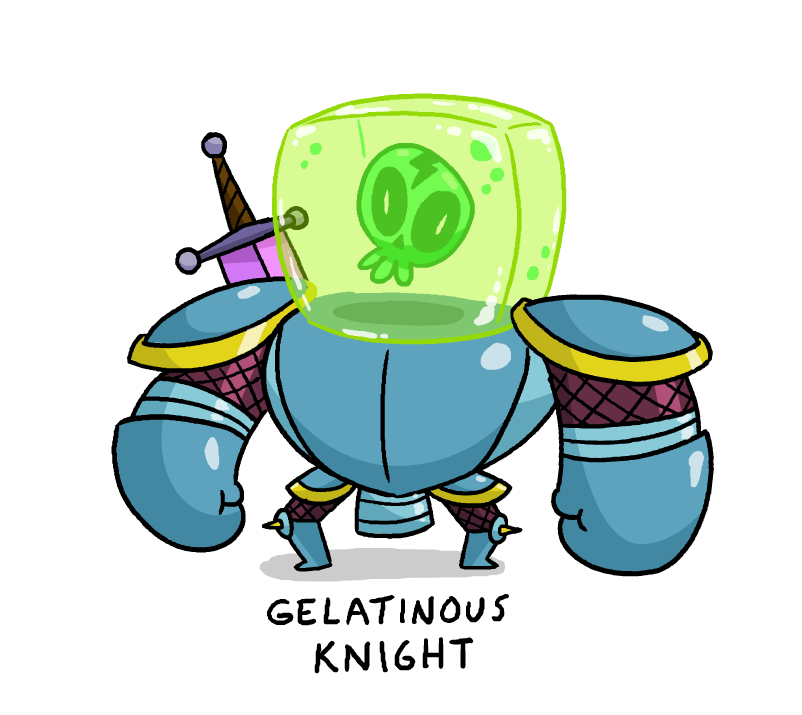 Gelatinous Knight