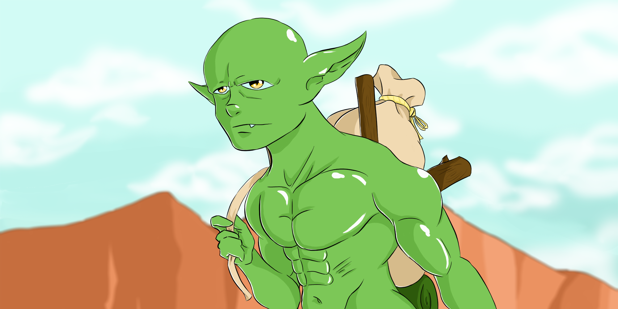 Unemployed Orc