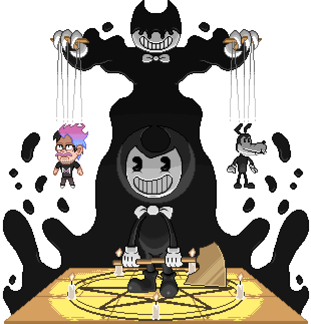 04 Bendy and the Ink Machine