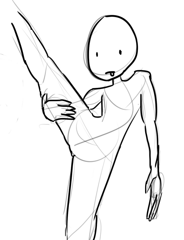 Weird Figure Sketch