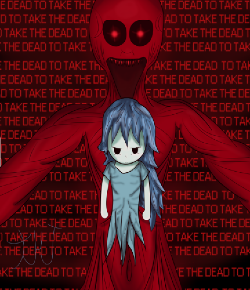 """To Take The Dead..."" Spooky's House Of Jumpscares Fan Art"