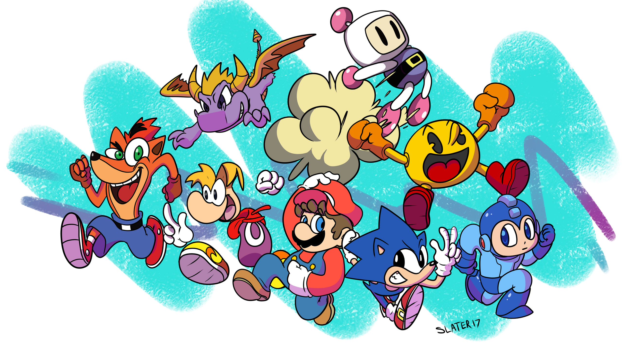 Video game boys