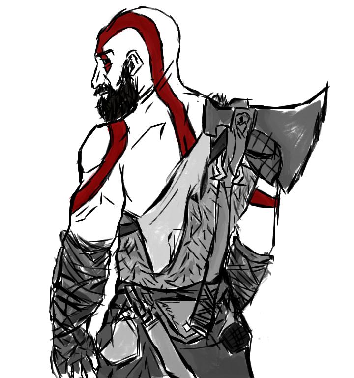 Old Man Kratos