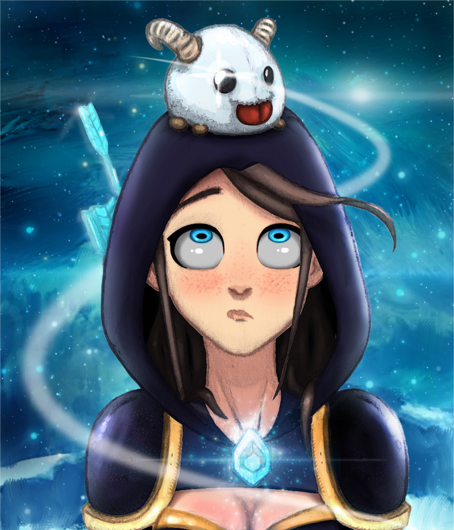 Ashe And Poro