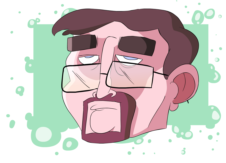 Fake Glasses guy