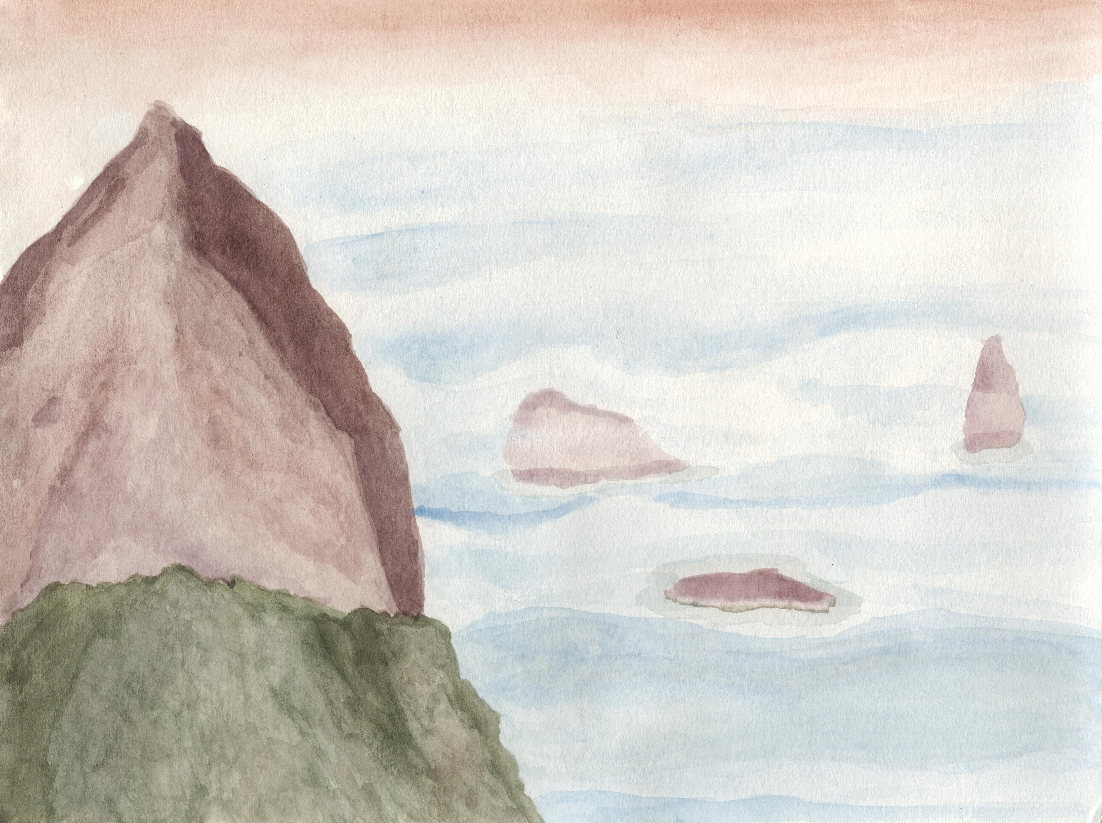 Ryōan-ji: Mountains in the Clouds