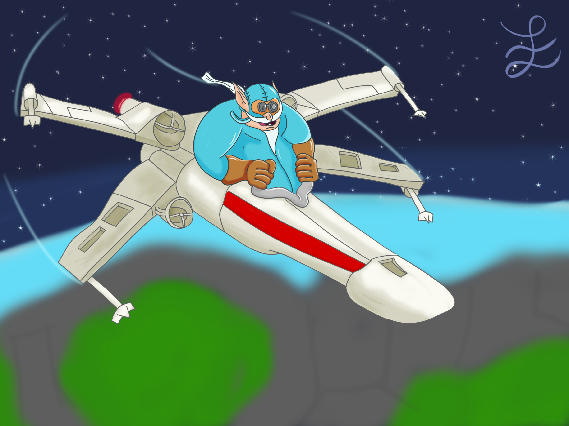Gyro-X-wing