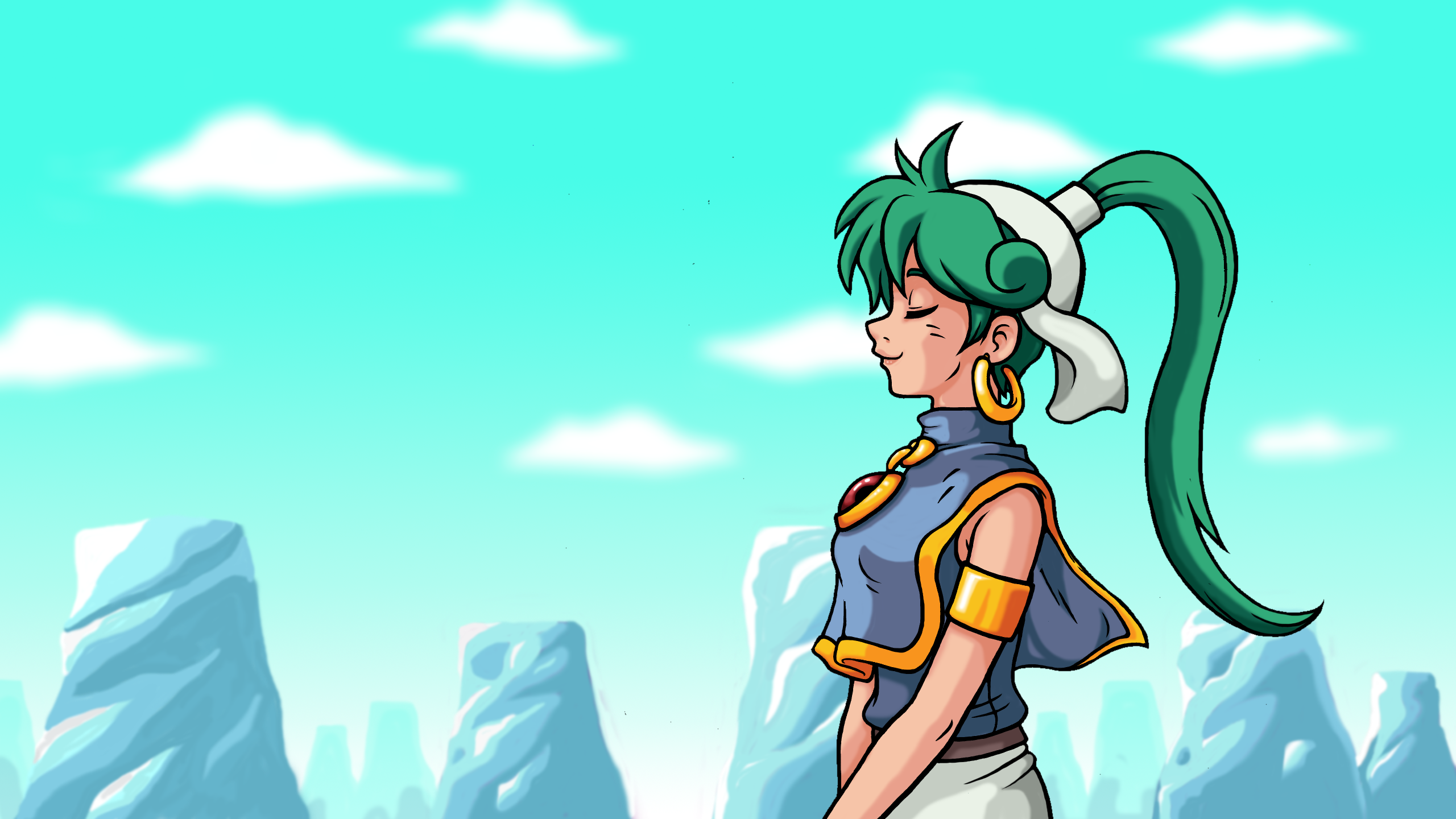 Asha from Monster World IV
