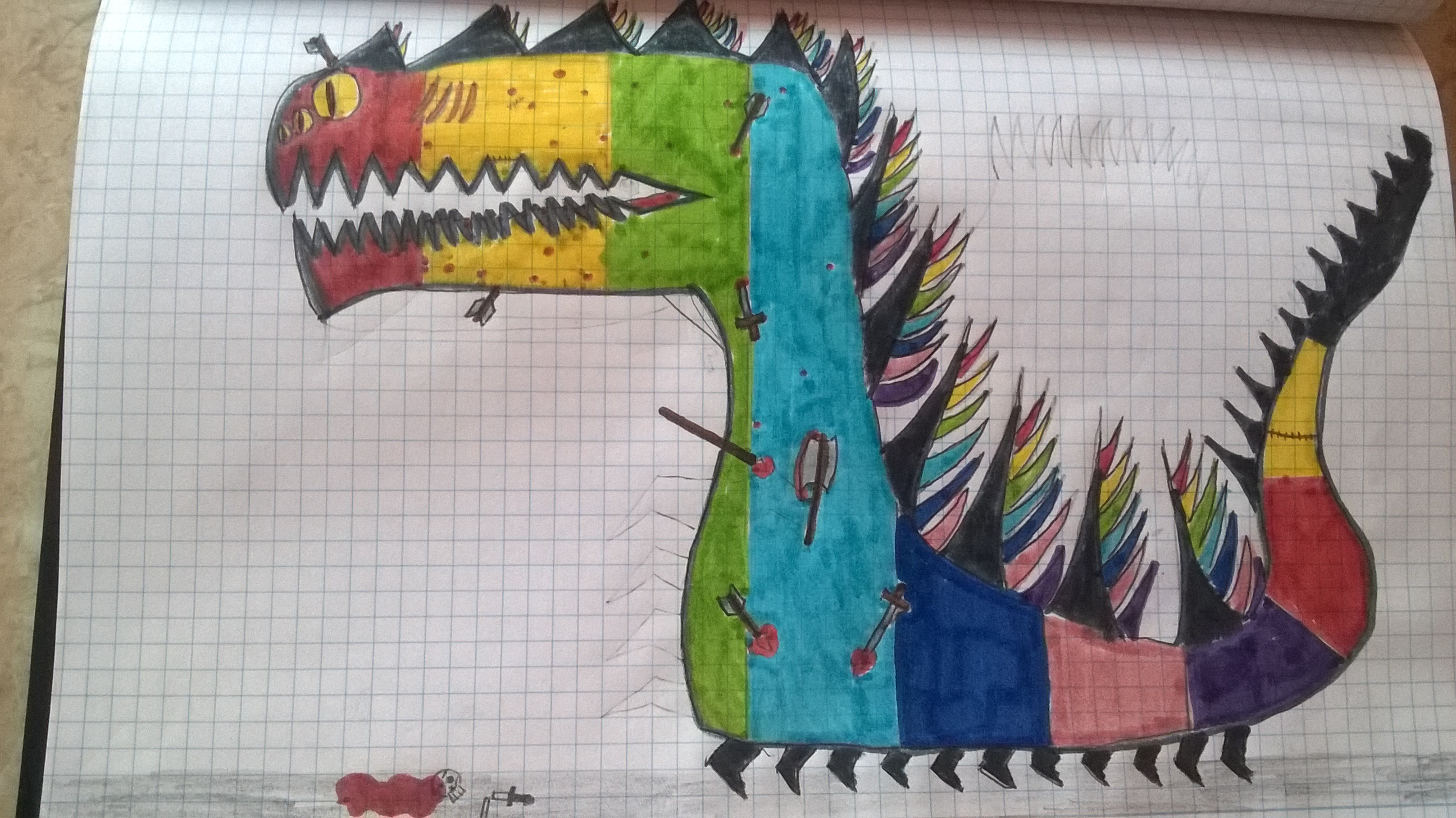 Teh Rainbow Monster