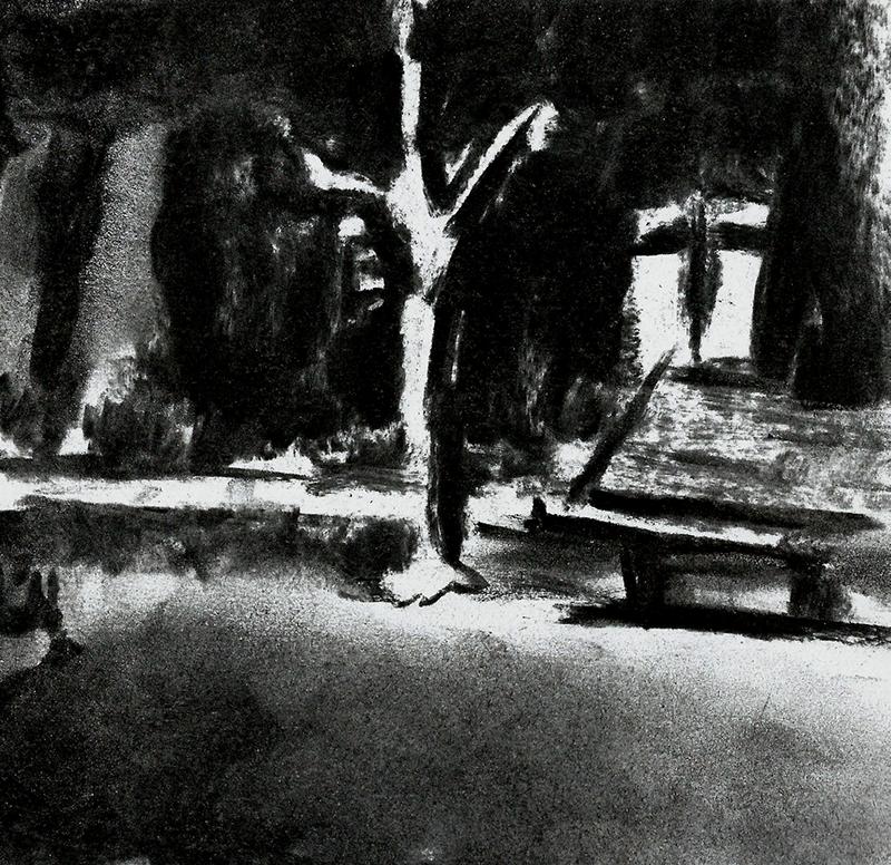 Park at Night III