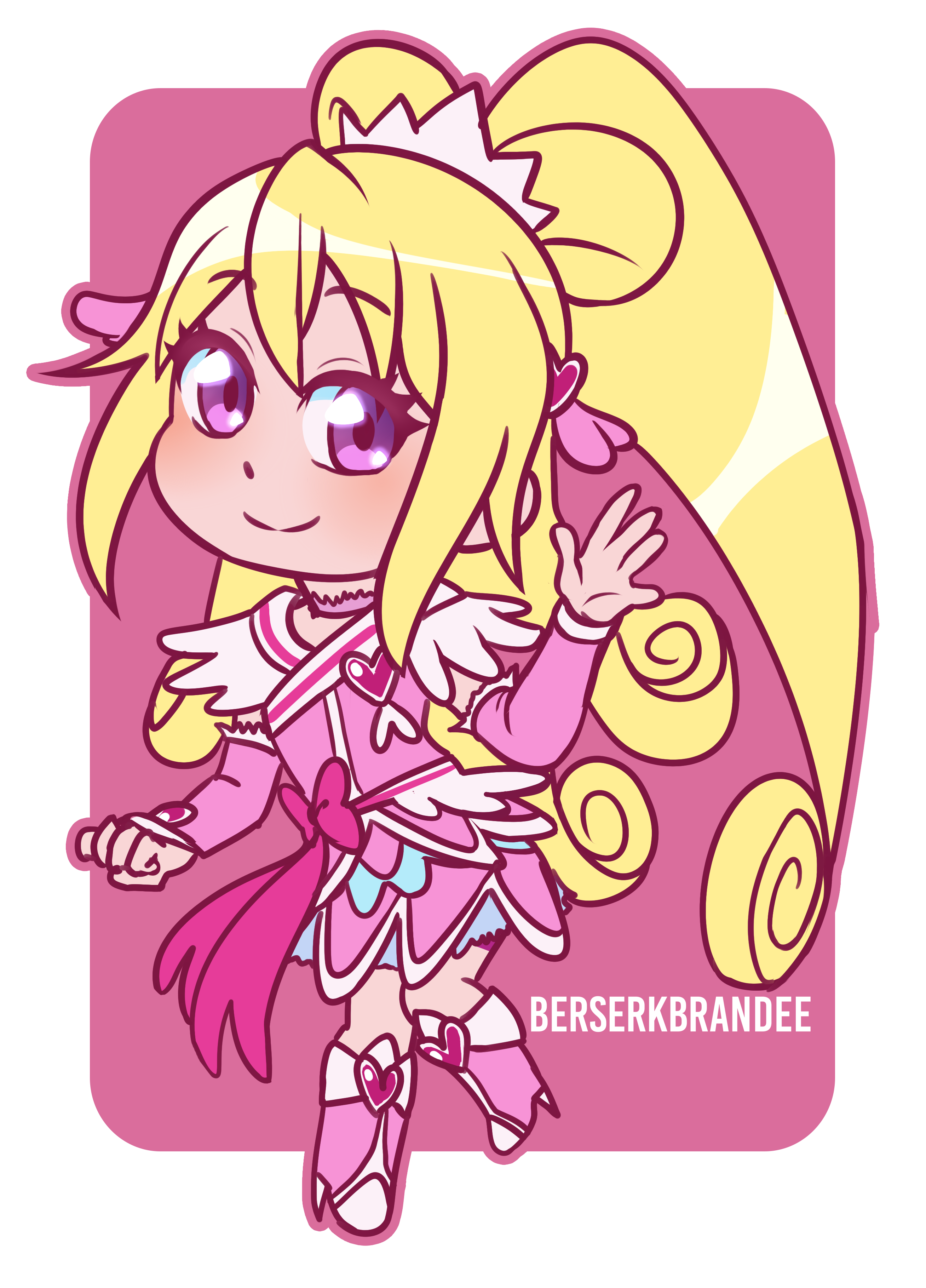 Cure Heart Chibi Commission